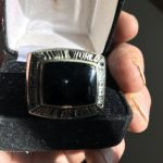 Richard Ricky D Ditlevsen, HOF Hall of Fame ring.
